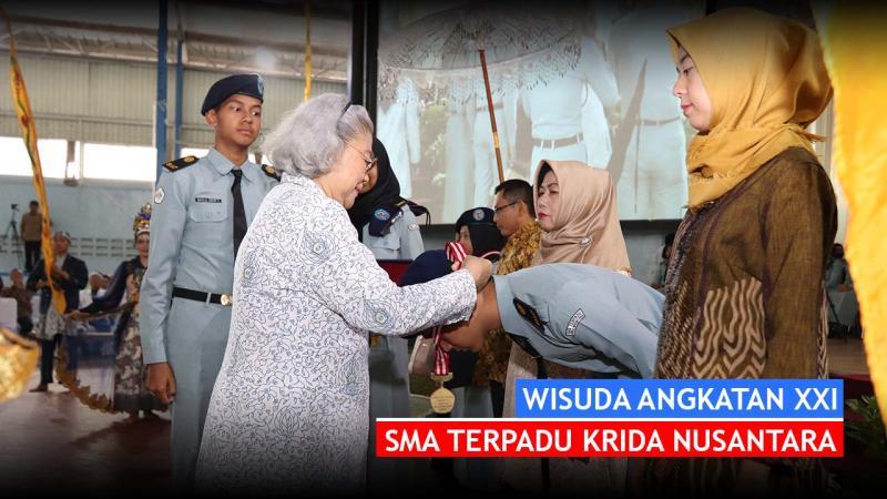 Wisuda Siswa Kelas XII Angkatan XXI SMA Terpadu Krida Nusantara Tahun Pelajaran 2018-2019